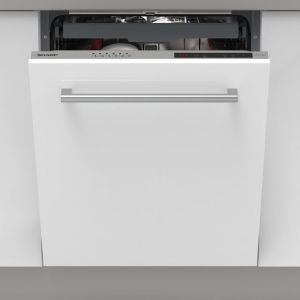Sharp QW-NI1EI45EX-EN Fully Integrated Standard Dishwasher - Silver Control Panel - A++ Rated