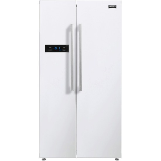 Stoves SXS909 American Fridge Freezer - White - A+ Rated