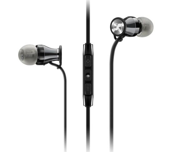 SENNHEISER Momentum 2.0 IEi Headphones - Black & Chrome, Black