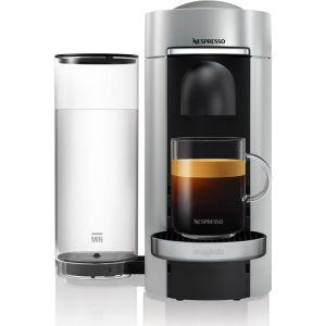 NESPRESSO by Magimix Vertuo Plus M600 Coffee Machine - Silver, Silver