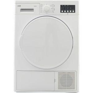LOGIK LHP8W18 8 kg Heat Pump Tumble Dryer - White, White