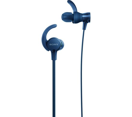 SONY EXTRA BASS Sports MDR-XB510AS Headphones - Blue, Blue