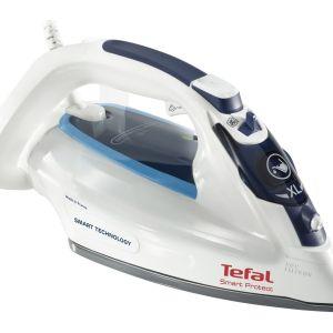 TEFAL Smart Protect FV4980 Steam Iron - White & Blue, White