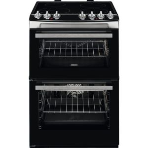ZANUSSI ZCI69060XE 60 cm Electric Induction Cooker - Black & Stainless Steel, Stainless Steel