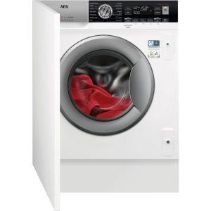 AEG L7WC8632BI Integrated 8 kg Washer Dryer, Blue