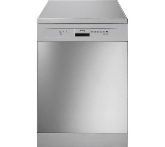 SMEG DFD13E2X Full-size Dishwasher - Stainless Steel & Silver, Stainless Steel