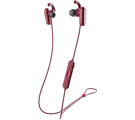 SKULLCANDY Method S2NQW-M685 Wireless Bluetooth Noise-Cancelling Sports Earphones - Red & Black, Red