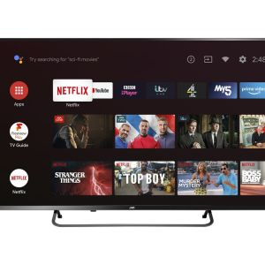 """50"""" JVC LT-50CA890 Android TV  Smart 4K Ultra HD HDR LED TV with Google Assistant"""