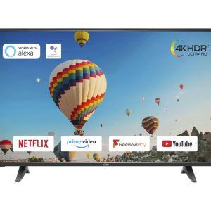 "65"" LOGIK L65UE20  Smart 4K Ultra HD HDR LED TV"