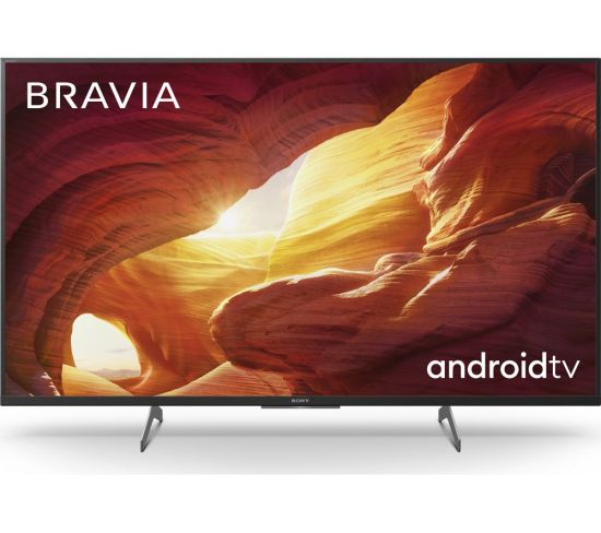 "SONY BRAVIA KD43XH8505BU 43"" Smart 4K Ultra HD HDR LED TV with Google Assistant"