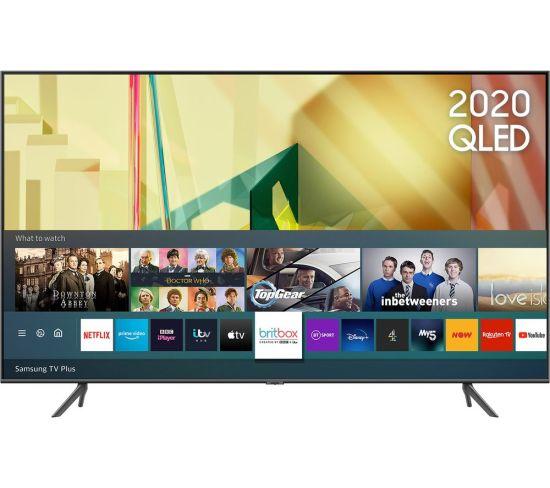SAMSUNG QE85Q70TATXXU 85'' Smart 4K Ultra HD HDR QLED TV with Bixby, Alexa & Google Assistant