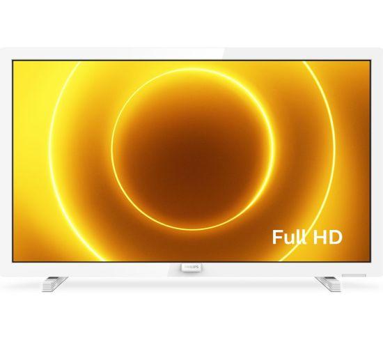 "24"" PHILIPS 24PFS5535/12  Full HD LED TV - White, White"