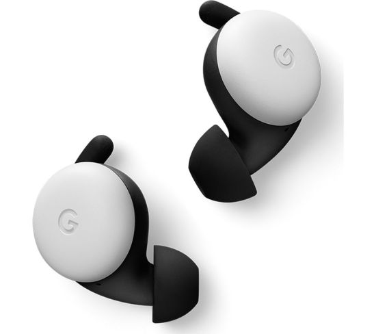 GOOGLE Pixel Buds Wireless Bluetooth Earphones - Clearly White, White