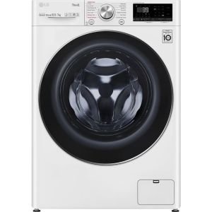 LG TurboWash 360 with AI DD V9 FWV917WTSE WiFi-enabled 10.5 kg Washer Dryer - White, White