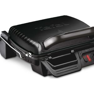 TEFAL Ultracompact 3-in-1 GC308840 Health Grill - Black, Black