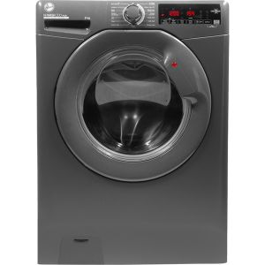 HOOVER H-Wash 300 H3W 68TMGGE 8 kg 1600 Spin Washing Machine - Graphite, Graphite