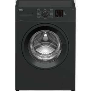 BEKO WTK74011A 7 kg 1400 Spin Washing Machine - Anthracite, Anthracite