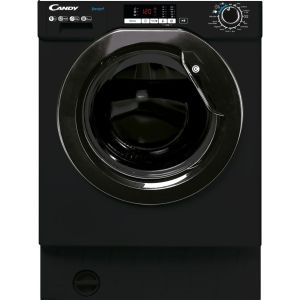 CANDY CBW49D2BBE Integrated 9 kg 1400 Spin Washing Machine - Black, Black