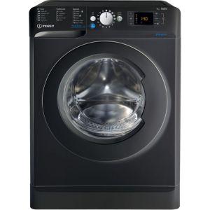 INDESIT Innex BWE 71452K UK N 7 kg 1400 Spin Washing Machine - Black, Black