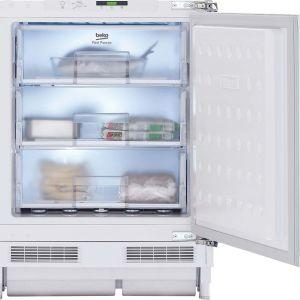BEKO BSFF3682 Integrated Undercounter Freezer - Fixed Hinge