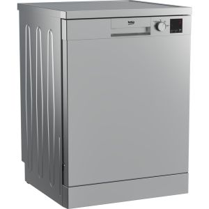 BEKO DVN04X20S Full-size Dishwasher - Silver, Silver