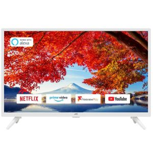 "32"" JVC LT-32C601  Smart HD Ready HDR LED TV - White, White"