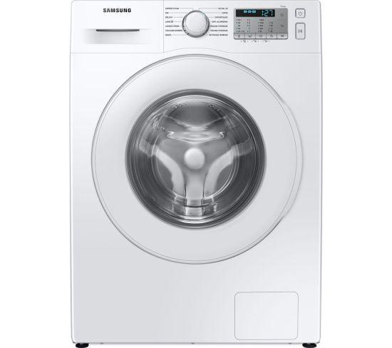 SAMSUNG ecobubble WW80TA046TH/EU 8 kg 1400 Spin Washing Machine - White, White