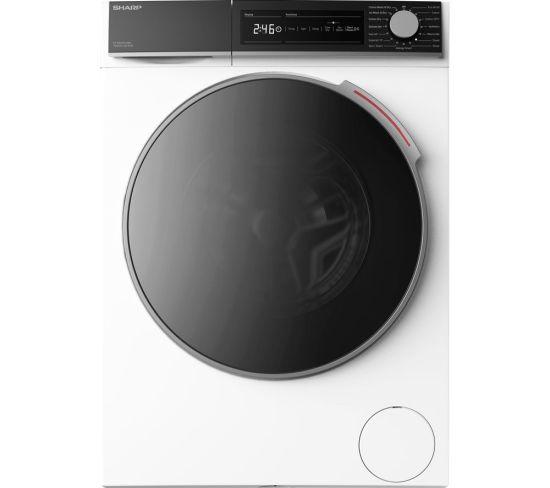 SHARP ES-NDH0144WC-EN 10 kg Washer Dryer - White, White