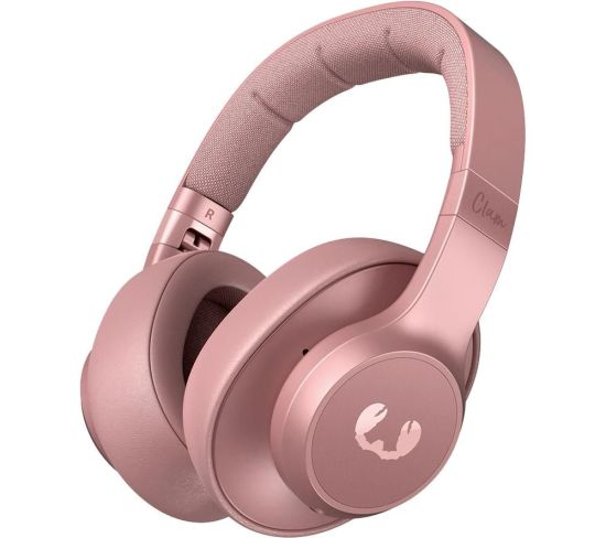 FRESH N REBEL Clam ANC Wireless Bluetooth Noise-Cancelling Headphones - Pink, Pink