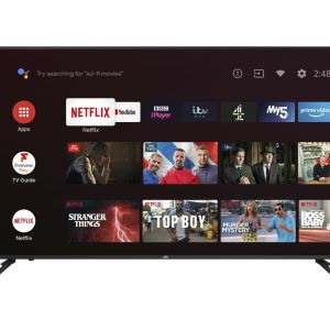 """58"""" JVC LT-58CA810 Android TV  Smart 4K Ultra HD HDR LED TV with Google Assistant"""