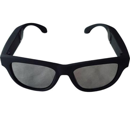 VOXOS VXSA-BLA Bone Conduction Smart Glasses - Black, Black