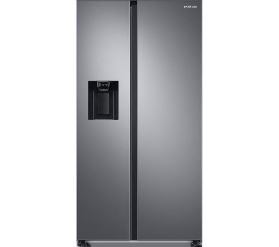 SAMSUNG RS8000 RS68A8520S9/EU American-style Fridge Freezer - Matte Stainless