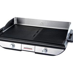 GASTROBACK Design Advanced Pro BBQ 42523 Table Grill - Silver & Black, Silver