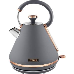 TOWER Cavaletto T10044RGG Traditional Kettle - Grey, Grey