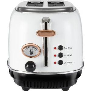 TOWER Bottega T20016W 2-Slice Toaster - White, White