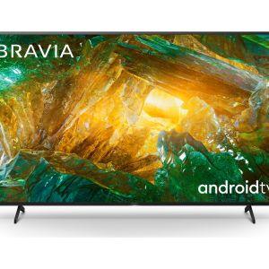 "55"" SONY BRAVIA KE55XH8096BU  Smart 4K Ultra HD HDR LED TV with Google Assistant, Blue"