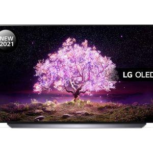 "55"" LG OLED55C14LB  Smart 4K Ultra HD HDR OLED TV with Google Assistant & Amazon Alexa"