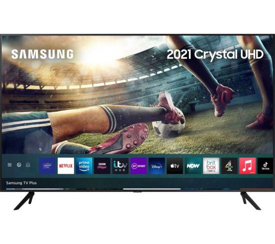 "85"" SAMSUNG UE85AU7100KXXU  Smart 4K Ultra HD HDR LED TV with Bixby, Alexa & Google Assistant"
