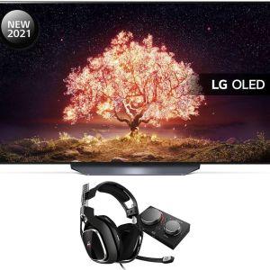 "55"" LG OLED55B16LA  Smart 4K TV, Astro Gaming Headset & MixAmp Pro Bundle, Black"