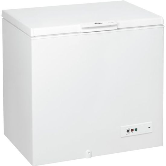 Whirlpool WHM31111 Chest Freezer - White - A+ Rated