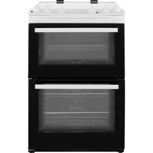 Zanussi ZCV66050WA 60cm Electric Cooker with Ceramic Hob - White - A/A Rated