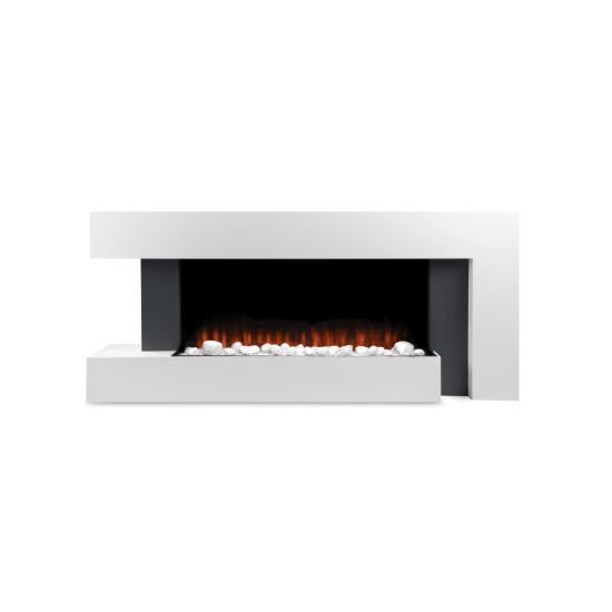 "Devola Dorking 2kW Electric Fireplace Suite – DVWF202GW Devola Heating Devola Dorking 2kW Electric Fireplace Suite – DVWF202GW Shop The Very Best Air Con Deals Online at <a href=""http://Appliance-Deals.com"">Appliance-Deals.com</a>"