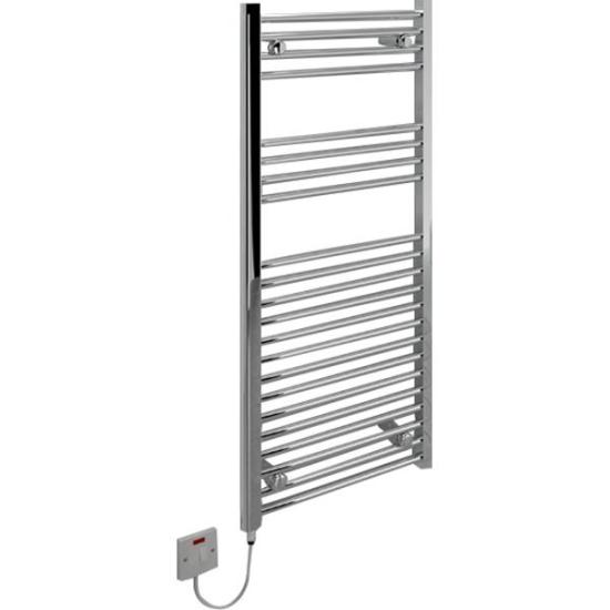 "Kudox 250W Flat D Electric Ladder Towel Rail - Chrome - KTR250FLATCH Kudox Heating Kudox 250W Flat D Electric Ladder Towel Rail - Chrome - KTR250FLATCH Shop The Very Best Air Con Deals Online at <a href=""http://Appliance-Deals.com"">Appliance-Deals.com</a>"