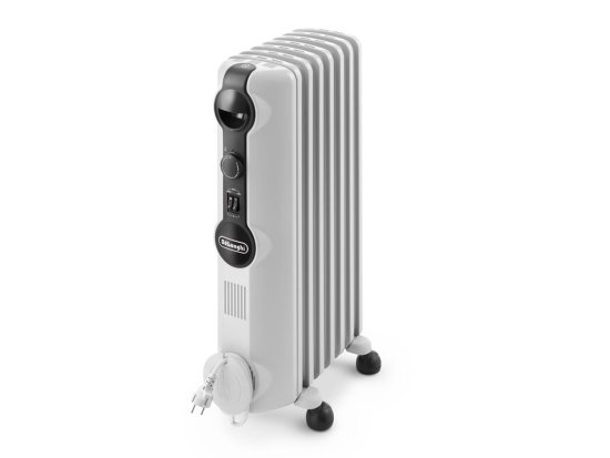 """Delonghi TRRS0715 1.5kW Oil Filled Radiator Delonghi Heating Delonghi TRRS0715 1.5kW Oil Filled Radiator Shop The Very Best Air Con Deals Online at <a href=""""http://Appliance-Deals.com"""">Appliance-Deals.com</a>"""