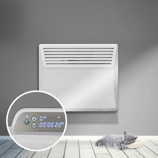 """Devola Eco Contour 0.5kw Panel Heater With 24hr/7 Day Timer - DVS500W (Return Unit) - (Used) Grade A Devola Heating Devola Eco Contour 0.5kw Panel Heater With 24hr/7 Day Timer - DVS500W (Return Unit) - (Used) Grade A Shop The Very Best Air Con Deals Online at <a href=""""http://Appliance-Deals.com"""">Appliance-Deals.com</a>"""