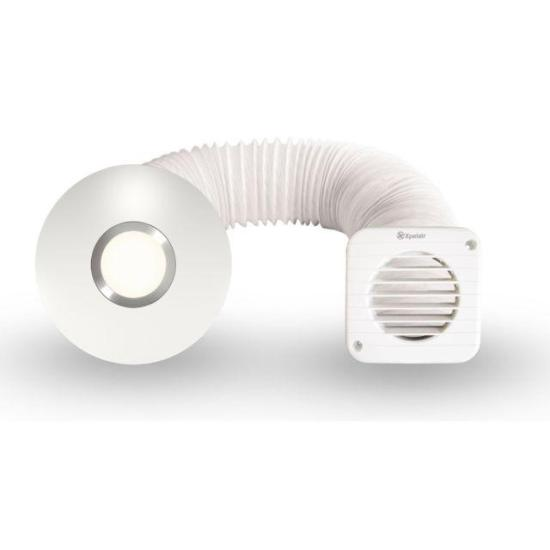 """Xpelair Simply Silent SSISFC 4""""/100mm Illumi Shower Fan Kit - 93087AW Xpelair Extractor Fans Xpelair Simply Silent SSISFC 4""""/100mm Illumi Shower Fan Kit - 93087AW Shop The Very Best Air Con Deals Online at <a href=""""http://Appliance-Deals.com"""">Appliance-Deals.com</a>"""