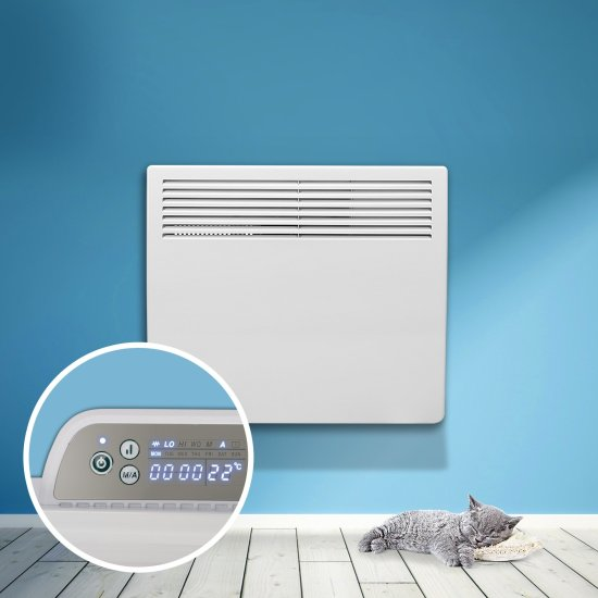 """Devola Eco 1kw Panel Heater With 24hr/7 Day Timer - DVM1000W (Return Unit) - (Used) Grade A Devola Heating Devola Eco 1kw Panel Heater With 24hr/7 Day Timer - DVM1000W (Return Unit) - (Used) Grade A Shop The Very Best Air Con Deals Online at <a href=""""http://Appliance-Deals.com"""">Appliance-Deals.com</a>"""