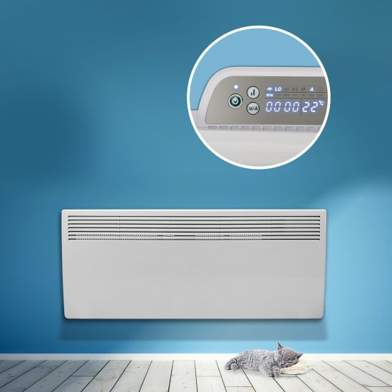 """Devola Eco 2.4kw Panel Heater With 24hr/7 Day Timer - DVM2400W (Return Unit) - (Used) Grade A Devola Heating Devola Eco 2.4kw Panel Heater With 24hr/7 Day Timer - DVM2400W (Return Unit) - (Used) Grade A Shop The Very Best Air Con Deals Online at <a href=""""http://Appliance-Deals.com"""">Appliance-Deals.com</a>"""