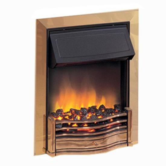 "Dimplex Danesbury Inset Fire (Brass Effect Finish) - DAN20 Dimplex Electric Fires Dimplex Danesbury Inset Fire (Brass Effect Finish) - DAN20 Shop The Very Best Air Con Deals Online at <a href=""http://Appliance-Deals.com"">Appliance-Deals.com</a>"