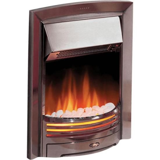 """Dimplex Adagio Inset Fire (Chrome Effect Finish) - ADG20 Dimplex Electric Fires Dimplex Adagio Inset Fire (Chrome Effect Finish) - ADG20 Shop The Very Best Air Con Deals Online at <a href=""""http://Appliance-Deals.com"""">Appliance-Deals.com</a>"""